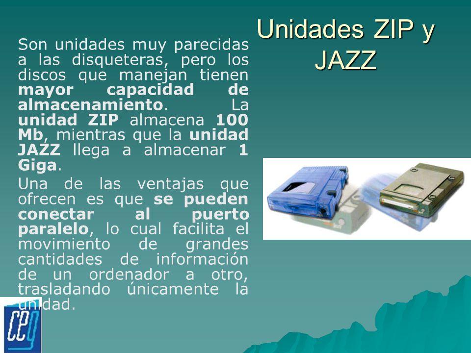 Unidades ZIP y JAZZ