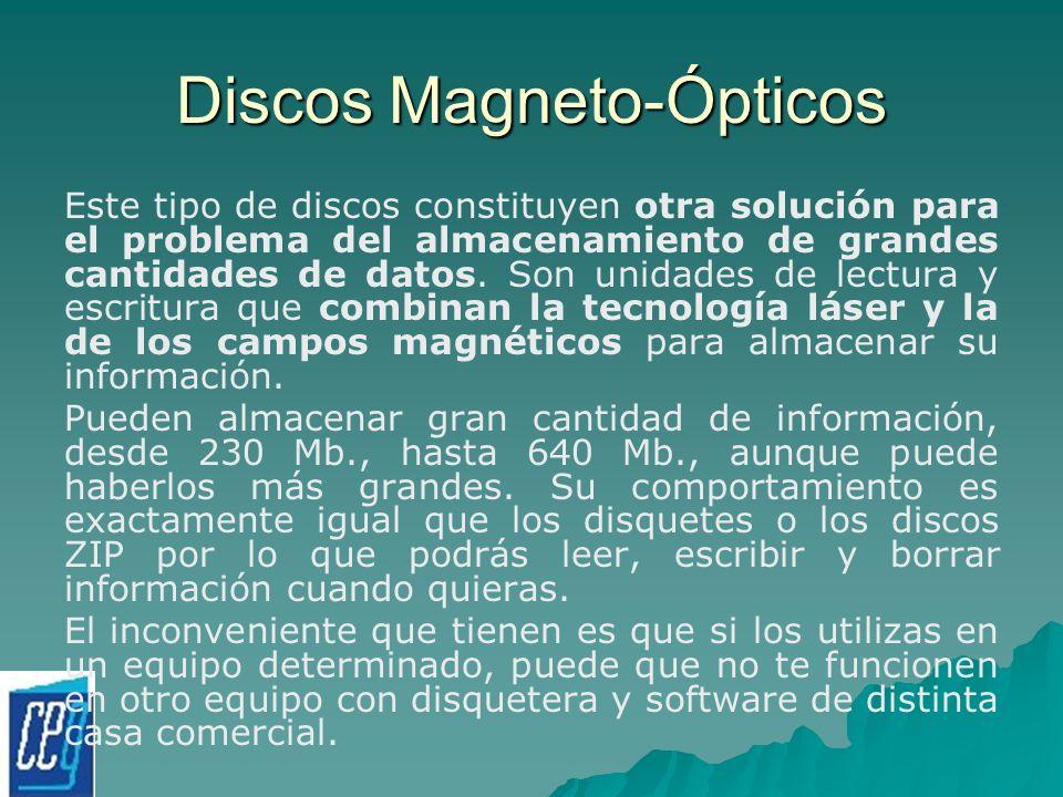Discos Magneto-Ópticos