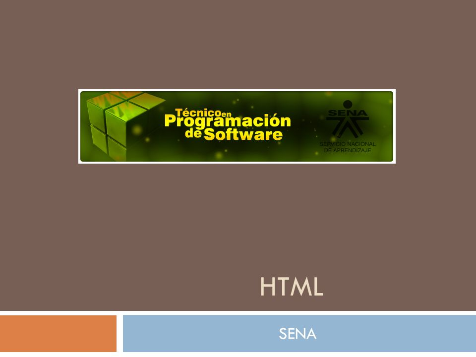 HTML SENA