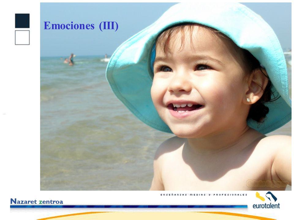 Emociones (III)