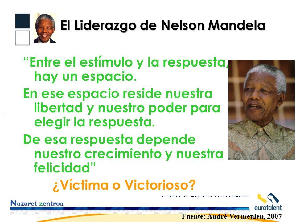 El Liderazgo de Nelson Mandela