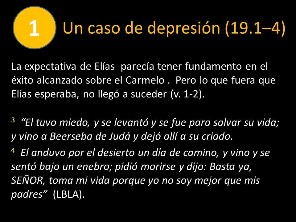 Un caso de depresión (19.1–4)