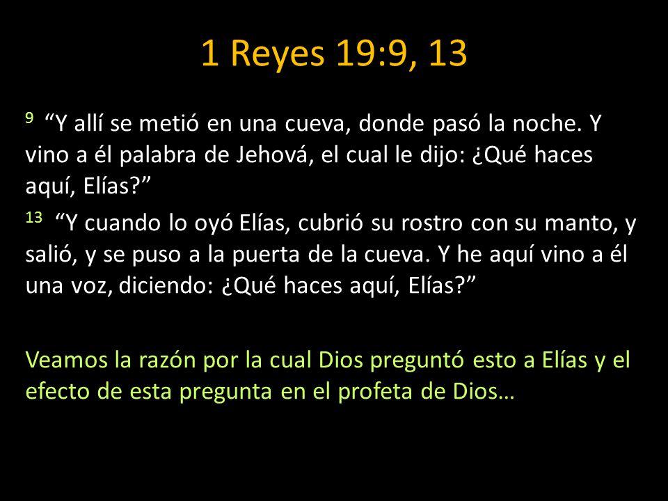 1 Reyes 19:9, 13