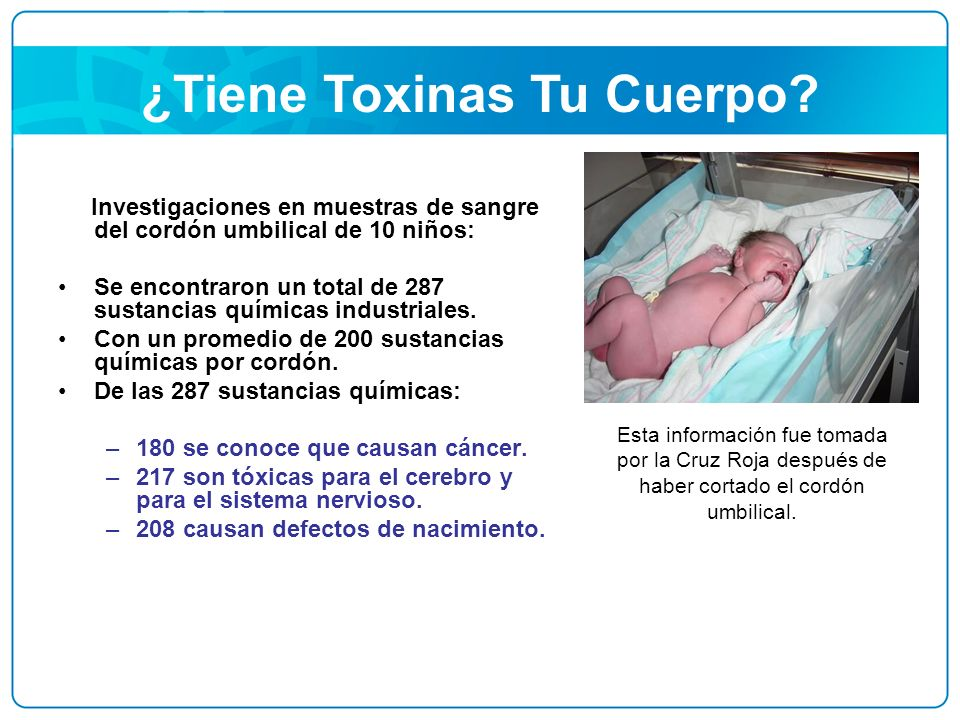 ¿Tiene Toxinas Tu Cuerpo
