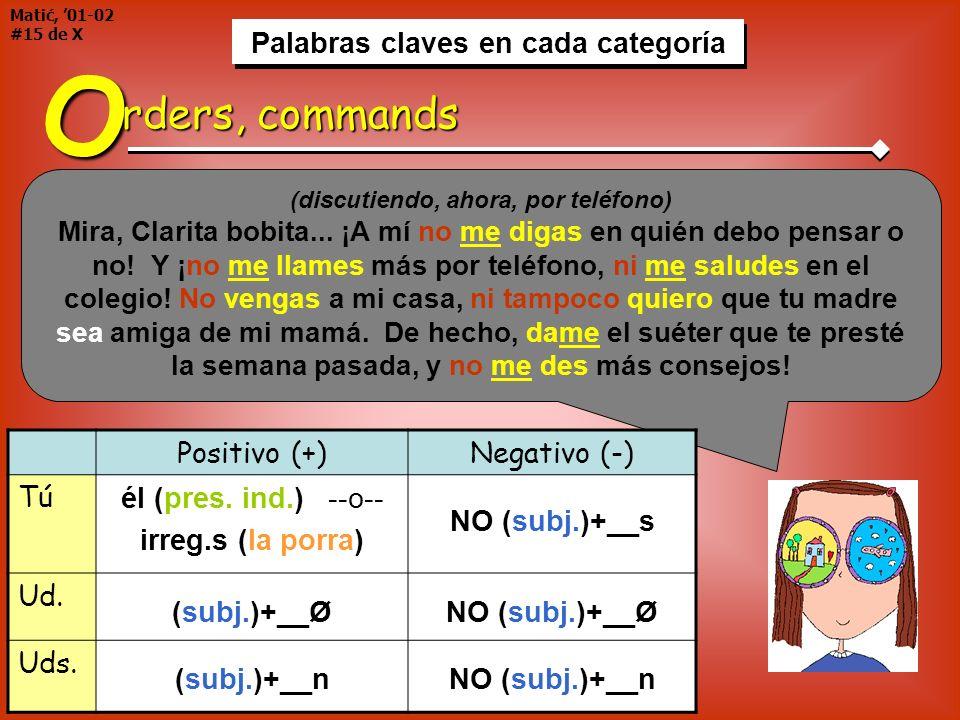 Matić, '01-02 #15 de X Palabras claves en cada categoría. Palabras claves en cada categoría.