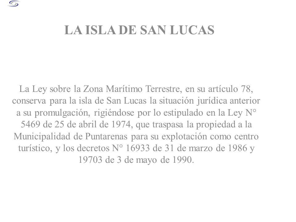 LA ISLA DE SAN LUCAS