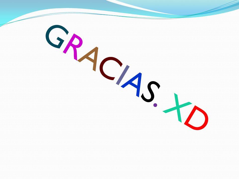 GRACIAS. XD