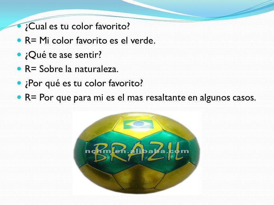 ¿Cual es tu color favorito