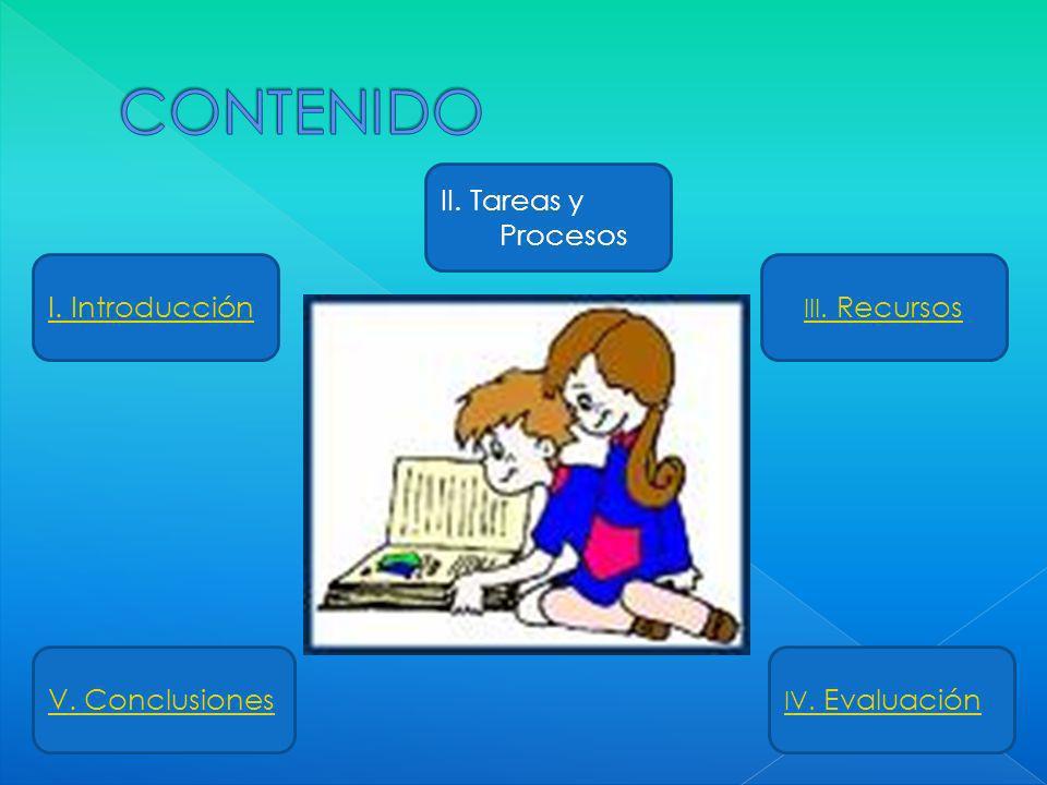 CONTENIDO II. Tareas y Procesos I. Introducción V. Conclusiones