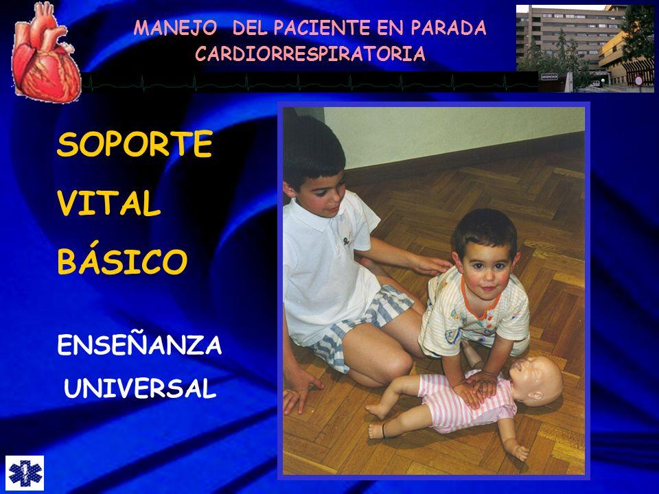 SOPORTE VITAL BÁSICO ENSEÑANZA UNIVERSAL