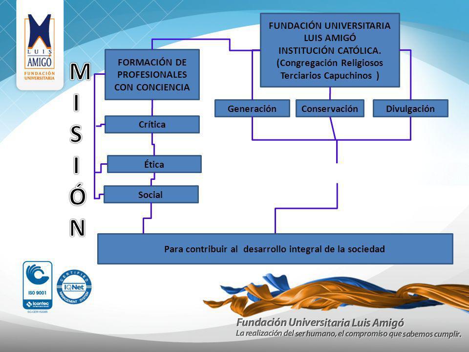 M I S Ó N FUNDACIÓN UNIVERSITARIA LUIS AMIGÓ