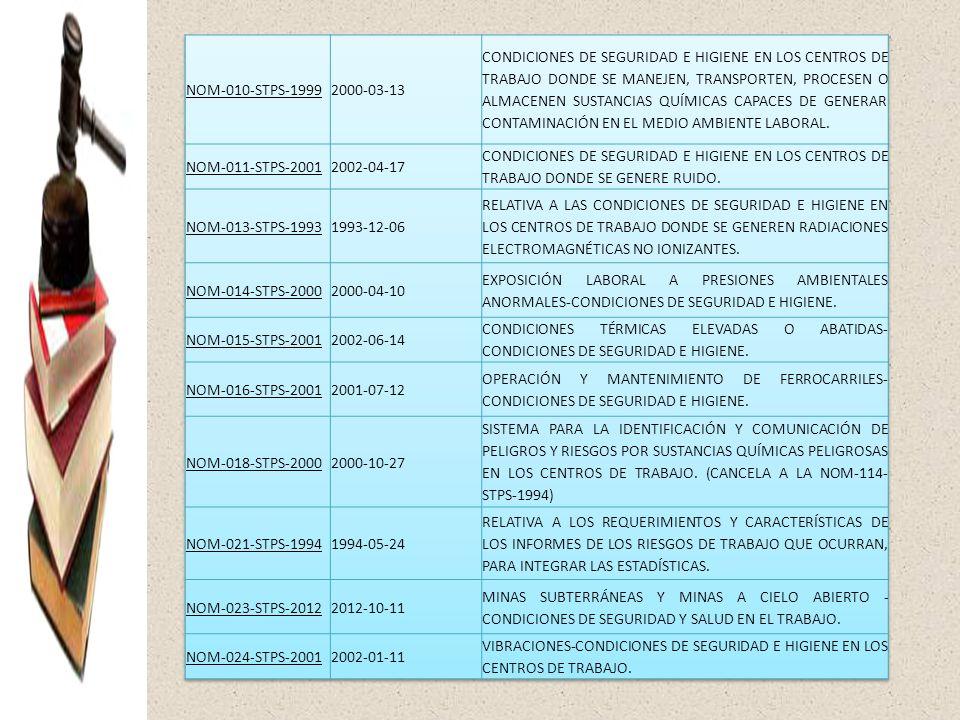 NOM-010-STPS-1999 2000-03-13.