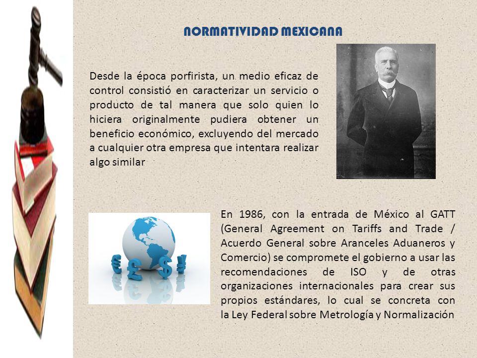 NORMATIVIDAD MEXICANA