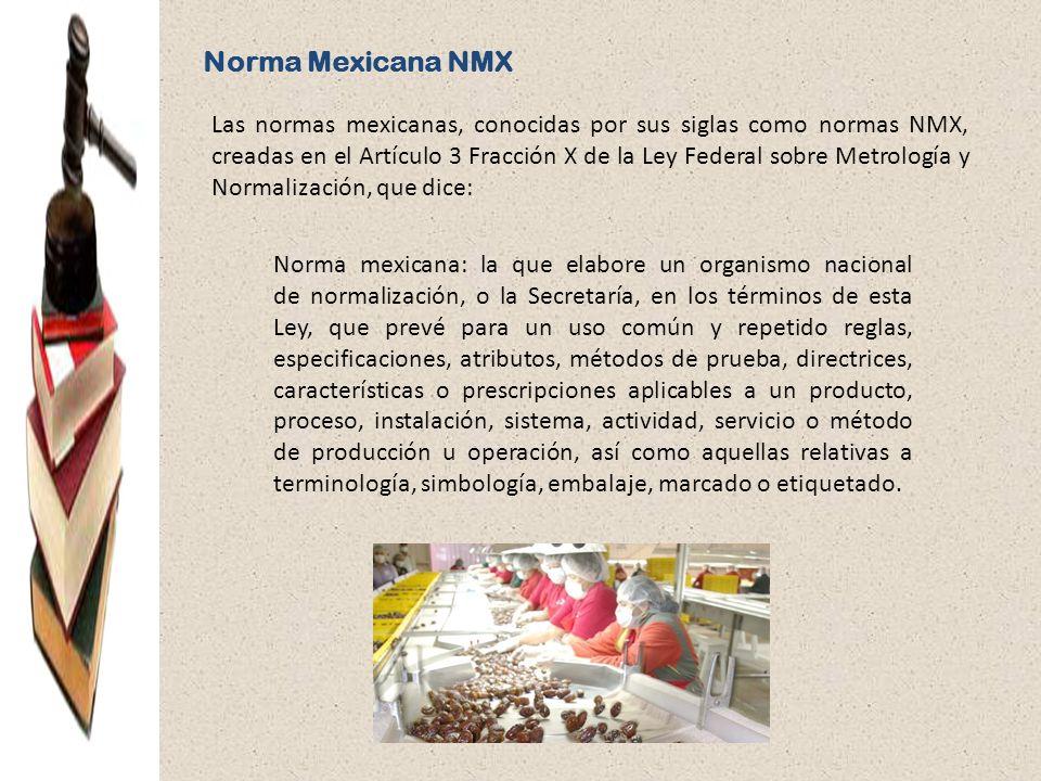 Norma Mexicana NMX
