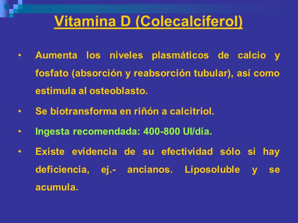 Vitamina D (Colecalciferol)