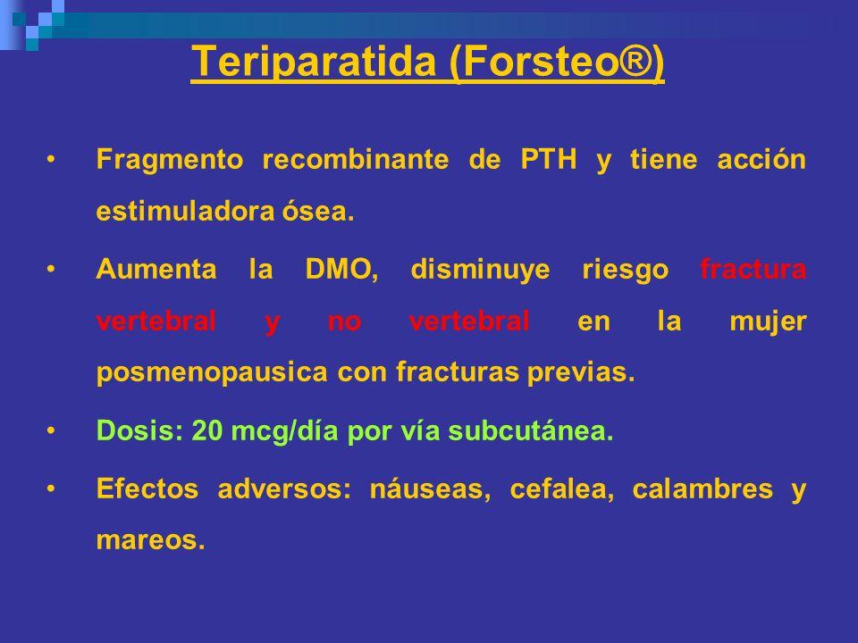 Teriparatida (Forsteo®)