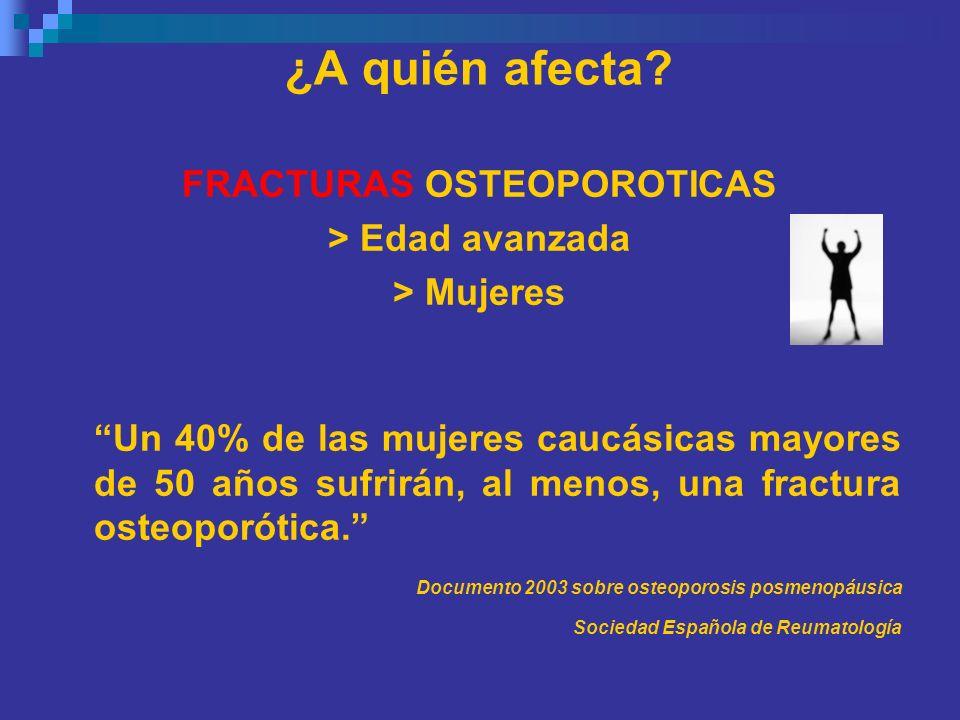 FRACTURAS OSTEOPOROTICAS