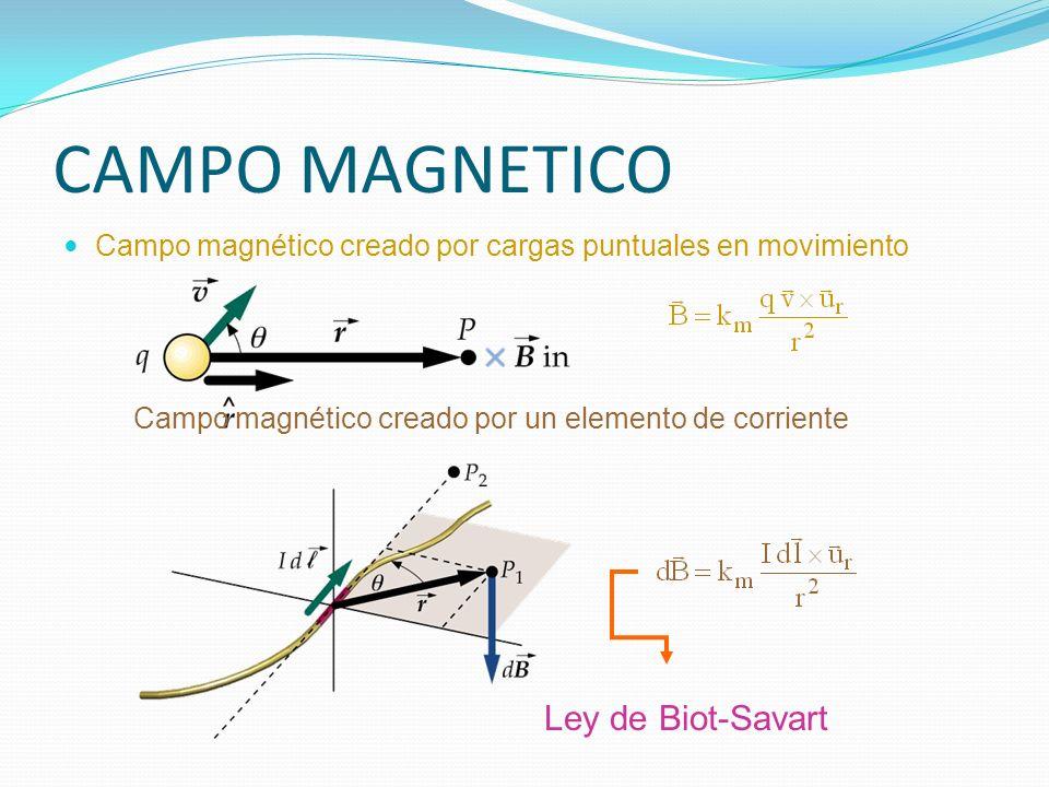 CAMPO MAGNETICO Ley de Biot-Savart