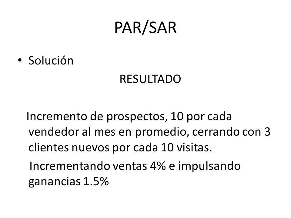PAR/SAR Solución RESULTADO