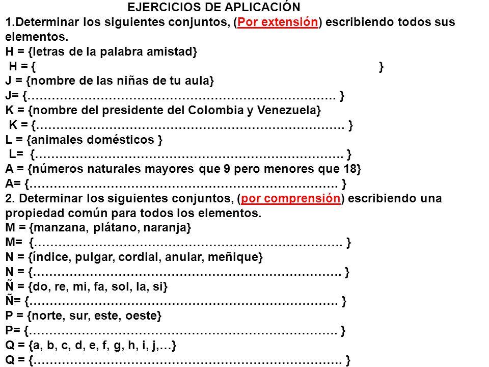 EJERCICIOS DE APLICACIÓN 1