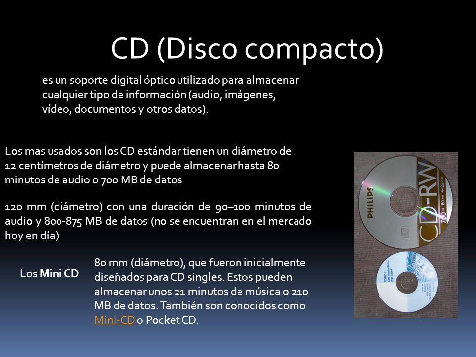 CD (Disco compacto)