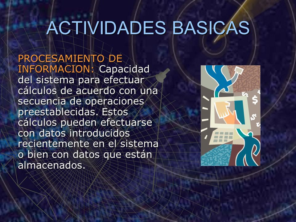 ACTIVIDADES BASICAS