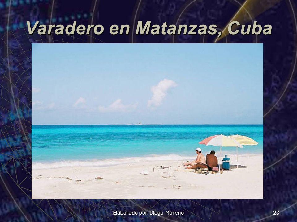 Varadero en Matanzas, Cuba