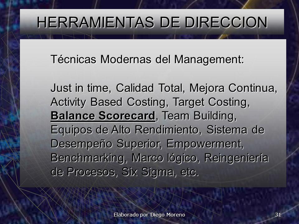 HERRAMIENTAS DE DIRECCION
