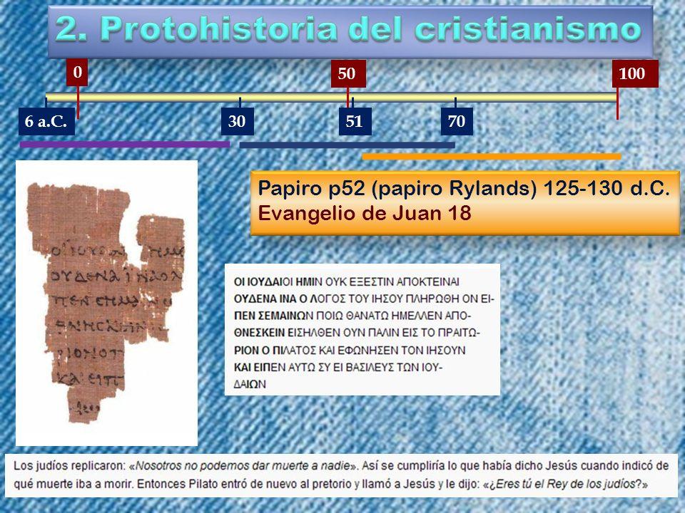 2. Protohistoria del cristianismo