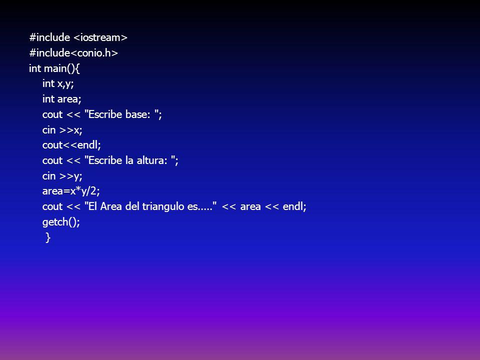 #include <iostream> #include<conio