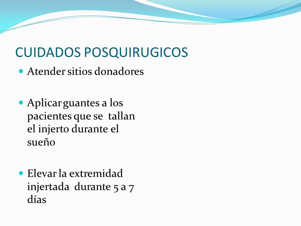 CUIDADOS POSQUIRUGICOS