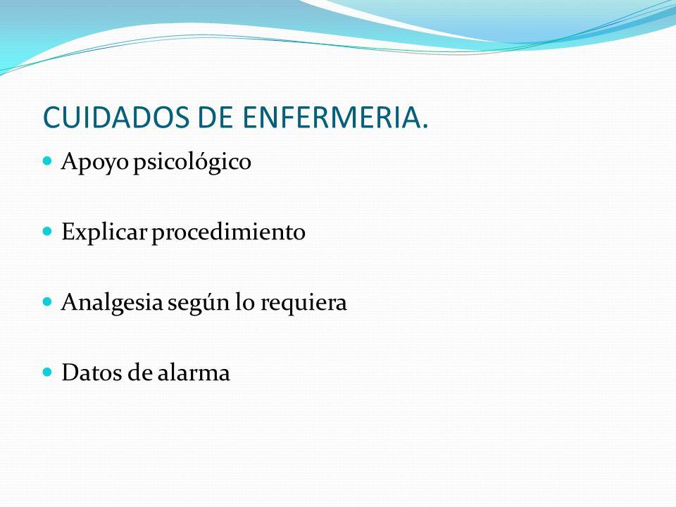 CUIDADOS DE ENFERMERIA.
