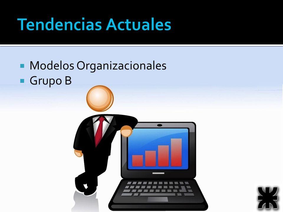 Tendencias Actuales Modelos Organizacionales Grupo B