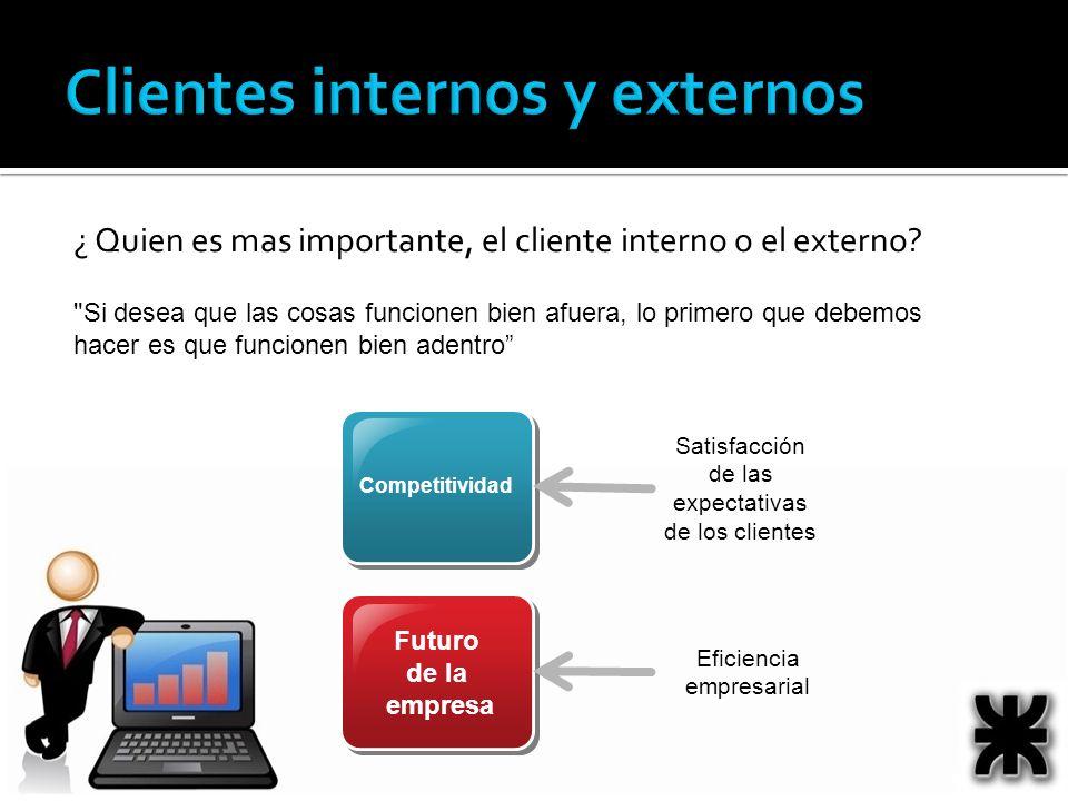Clientes internos y externos