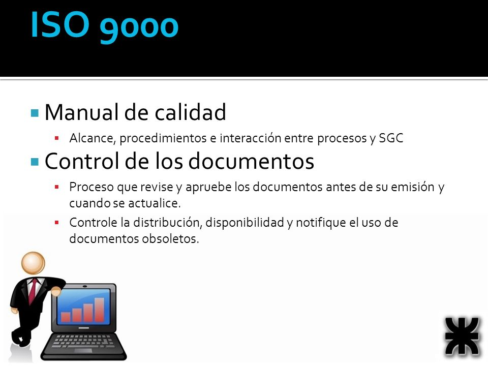 ISO 9000 Manual de calidad Control de los documentos