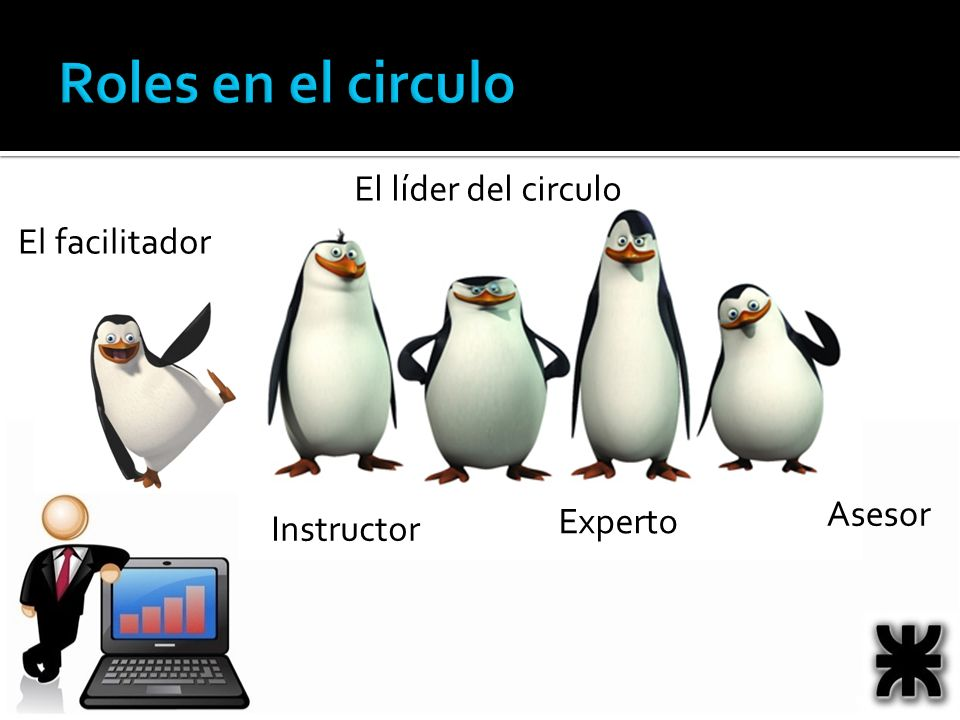 Roles en el circulo El líder del circulo El facilitador Asesor Experto