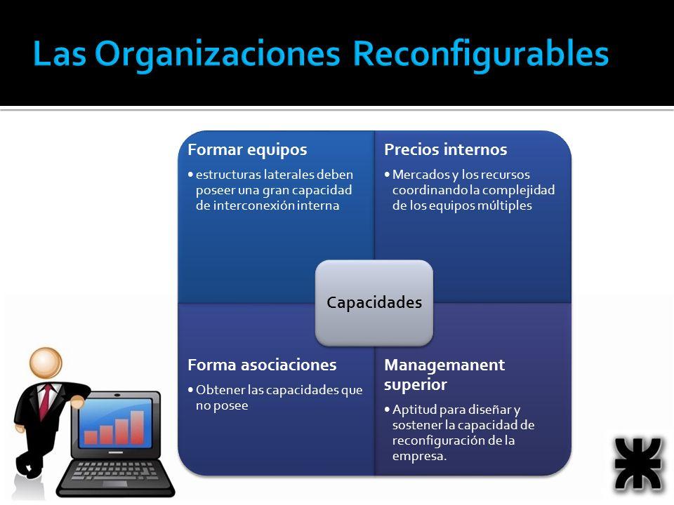 Las Organizaciones Reconfigurables