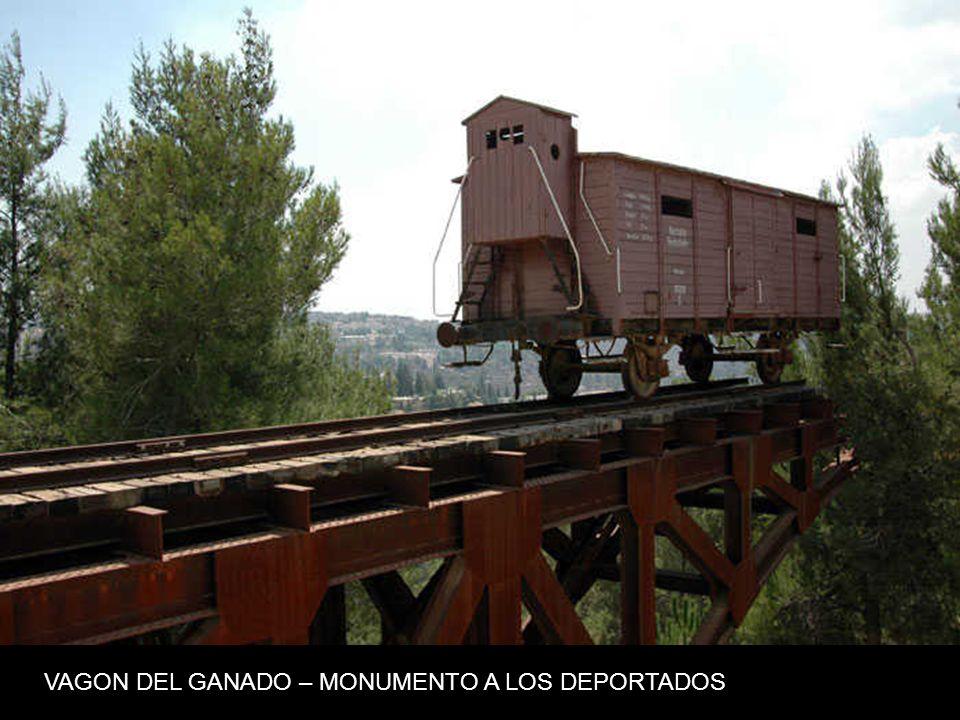 VAGON DEL GANADO – MONUMENTO A LOS DEPORTADOS