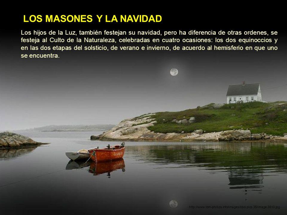LOS MASONES Y LA NAVIDADNAVIDAD