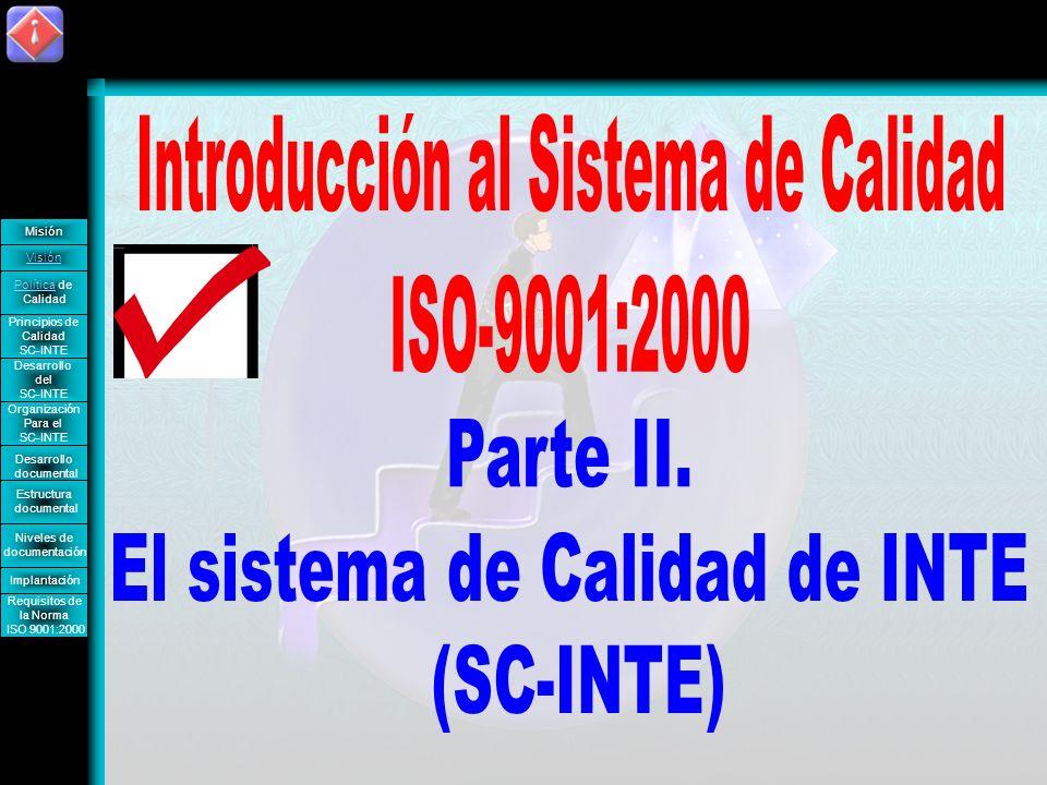 Introducción al Sistema de Calidad ISO-9001:2000