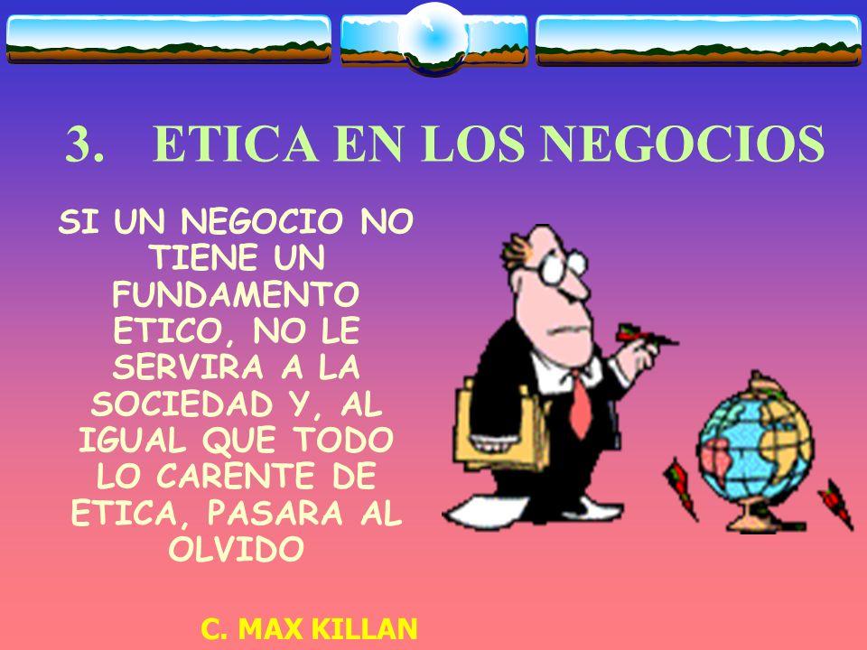 3. ETICA EN LOS NEGOCIOS