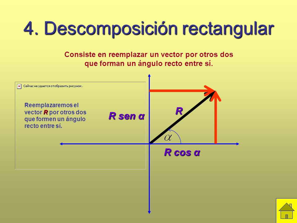 4. Descomposición rectangular