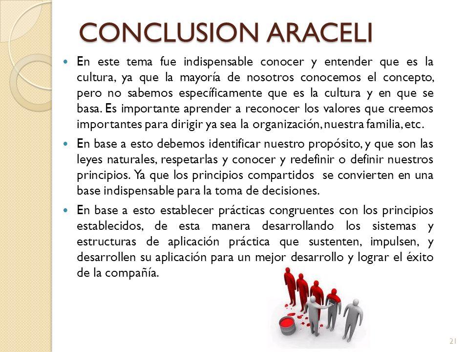 CONCLUSION ARACELI