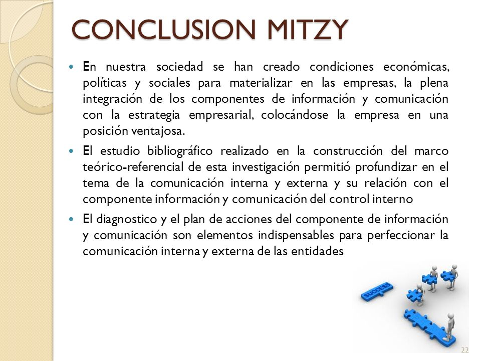 CONCLUSION MITZY