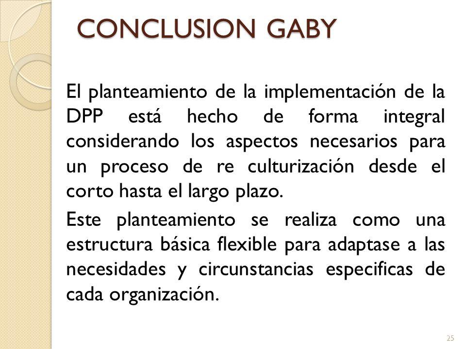 CONCLUSION GABY