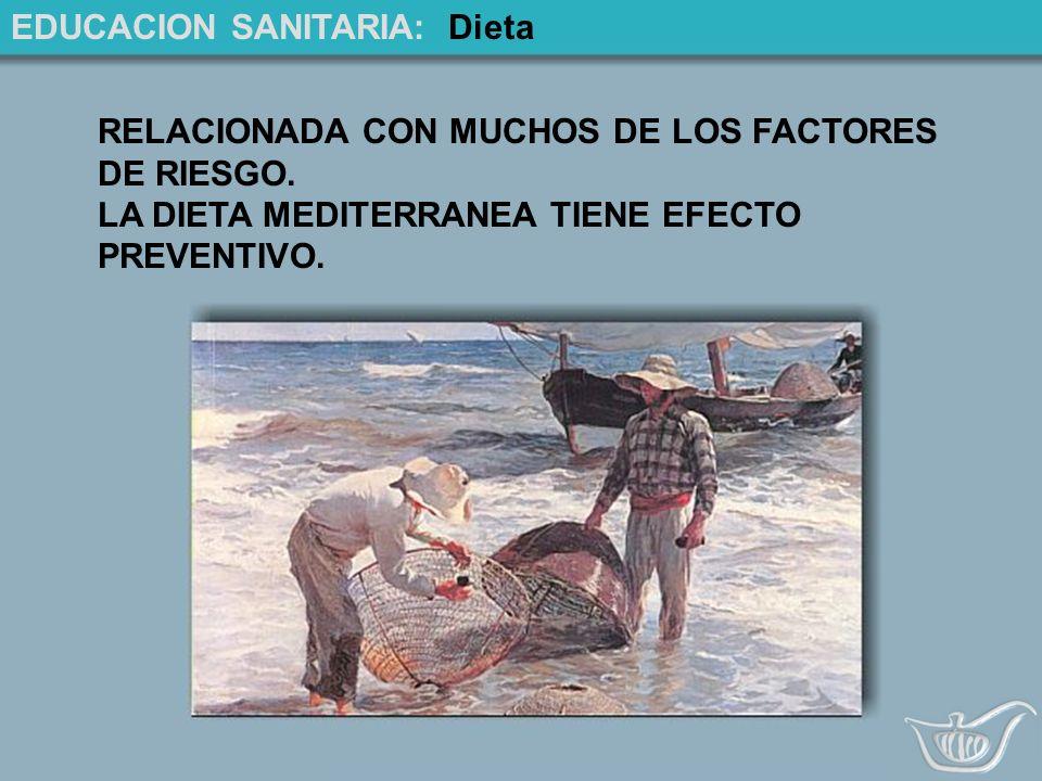 EDUCACION SANITARIA: Dieta