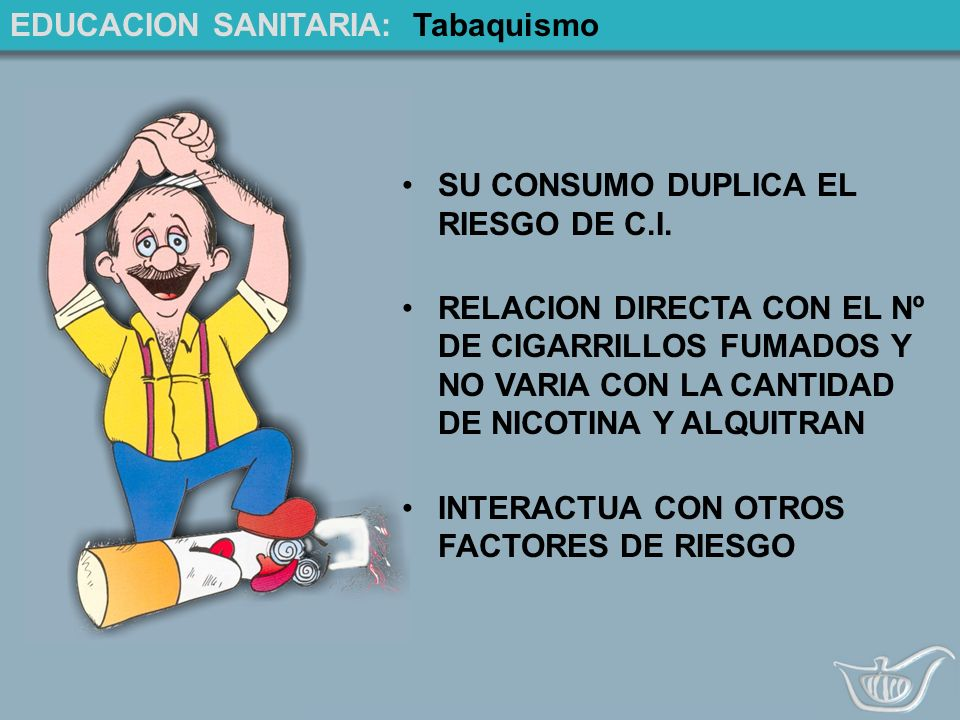 EDUCACION SANITARIA: Tabaquismo