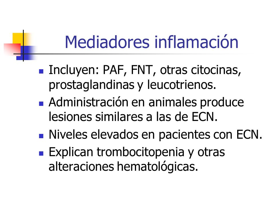 Mediadores inflamación