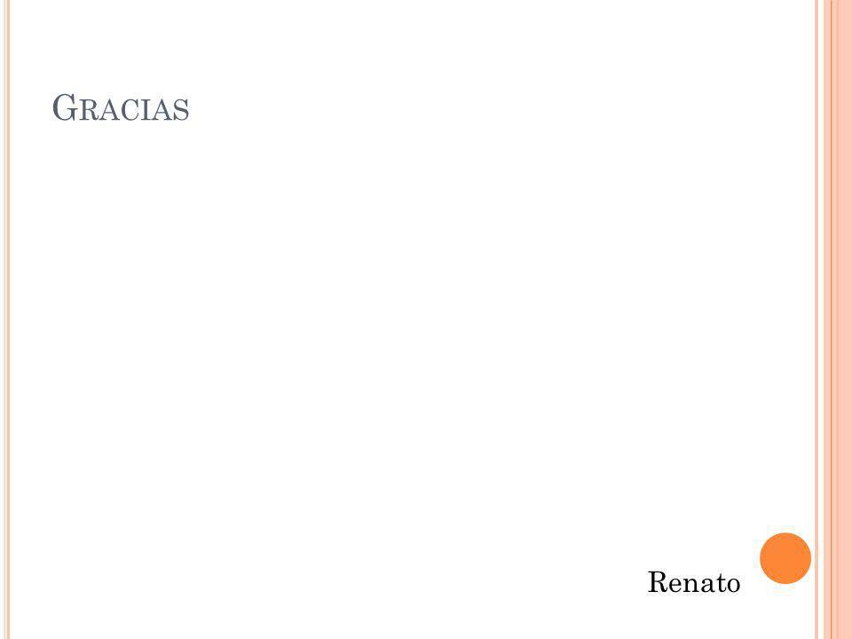 Gracias Renato