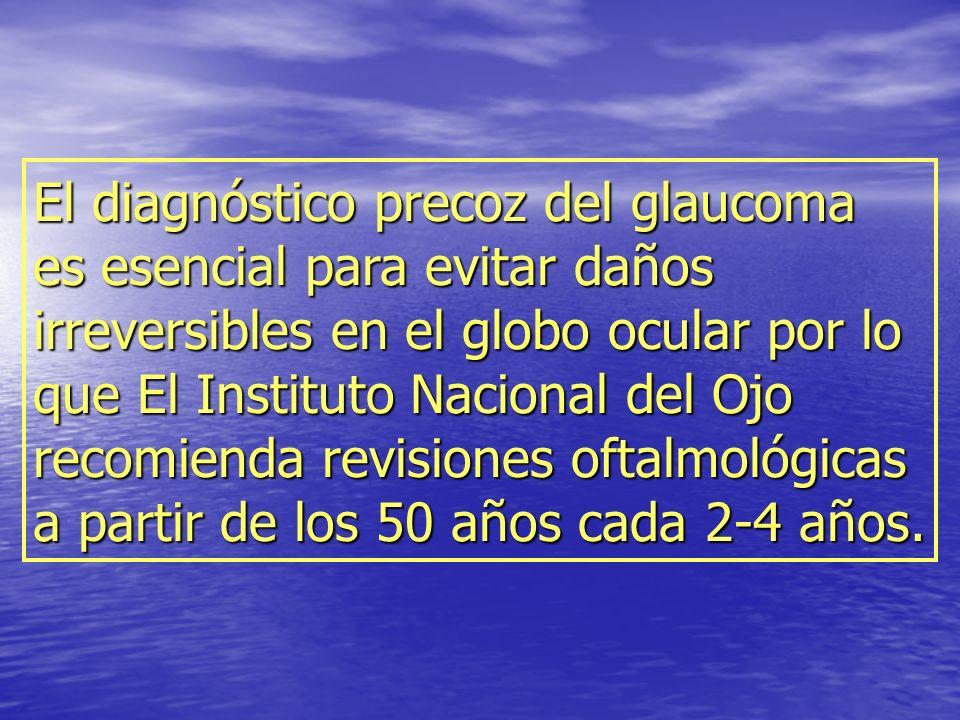 El diagnóstico precoz del glaucoma
